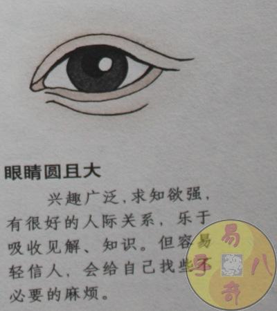 眼睛的形状与性格-易奇文化