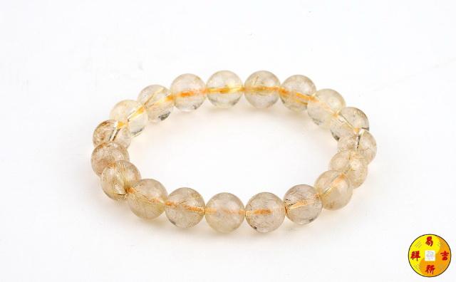 金发晶手链